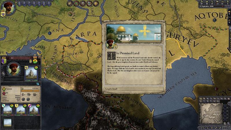 Crusader Kings II: Sons Of Abraham - DLC