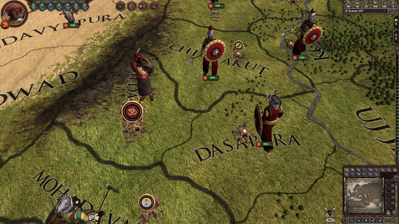 Crusader Kings II: Rajas of India - DLC