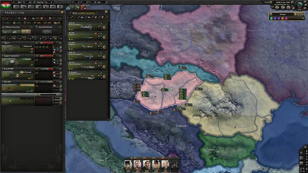 Hearts of Iron IV - Death or Dishonor