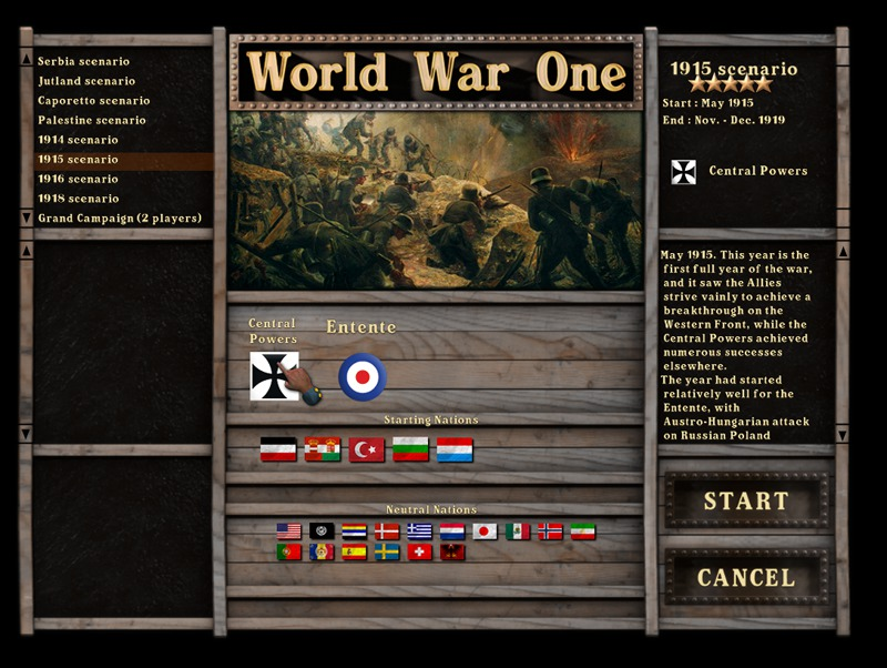 World War One - Centennial Edition