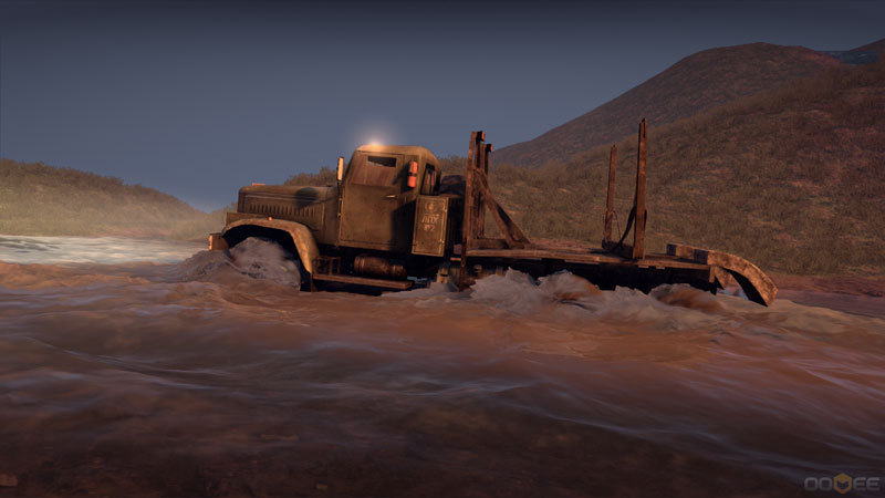 Spintires : Camions Tout-Terrain Simulator