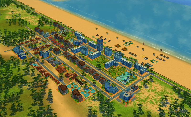 Beach Resort Simulator