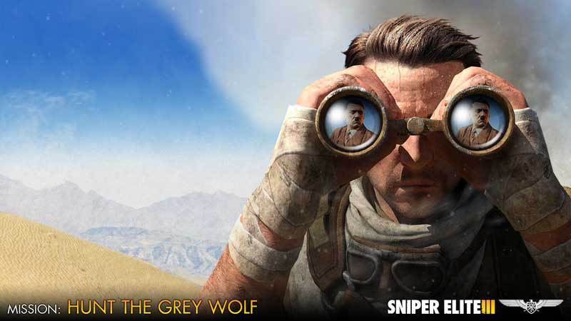 Sniper Elite III - Target Hitler: Hunt the Grey Wolf (DLC)