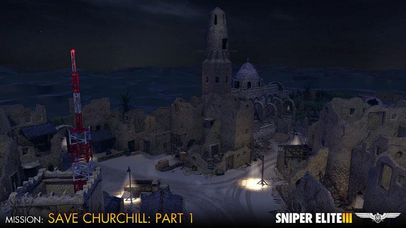 Sniper Elite III - Save Churchill Part 1: In Shadows (DLC)