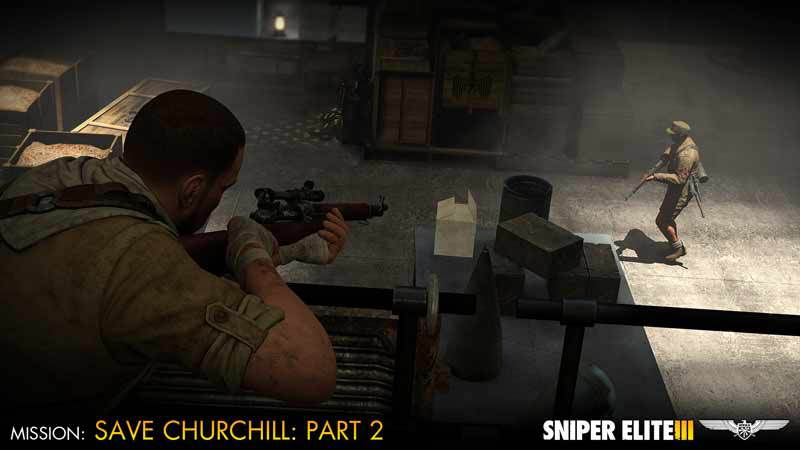 Sniper Elite III - Save Churchill Part 2: Belly of the Beast (DLC)