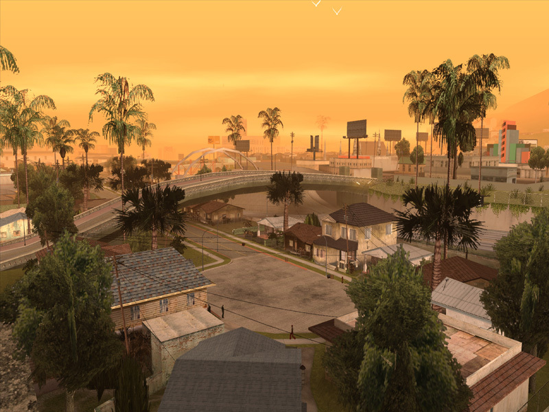 Grand Theft Auto: San Andreas - Screenshot 1
