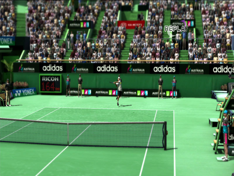 Virtua Tennis 4 - Screenshot 1