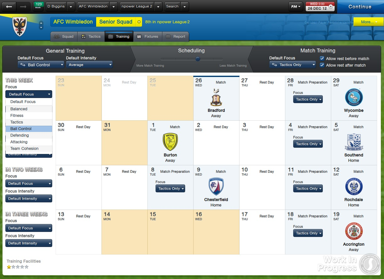 Football Manager 2013 (PC - Mac) - Screenshot 1