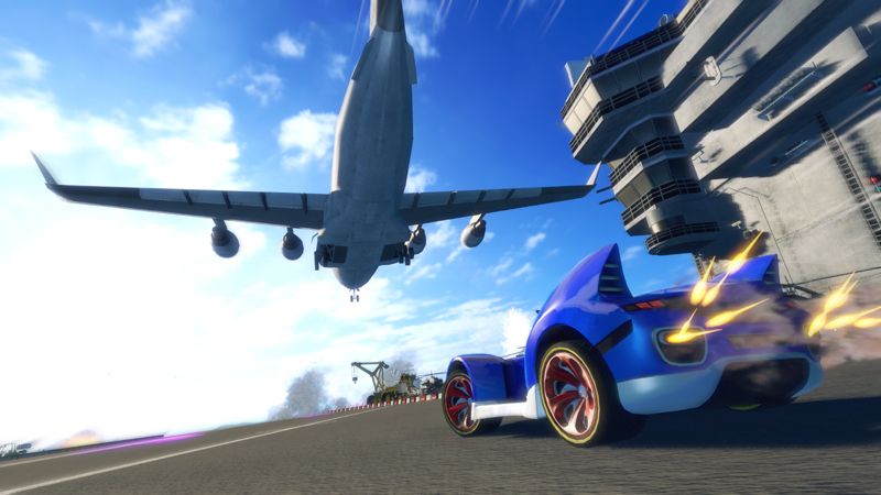 Sonic & SEGA All-Stars Racing Transformed - Screenshot 1