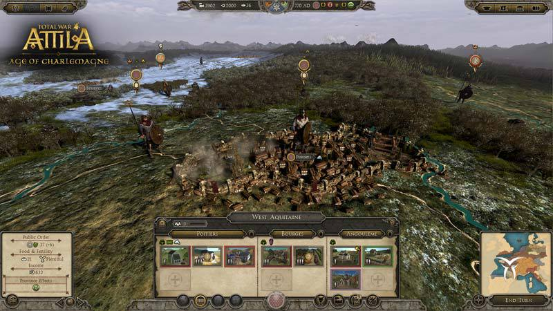 Total War Attila: Age of Charlemagne Campaign Pack DLC