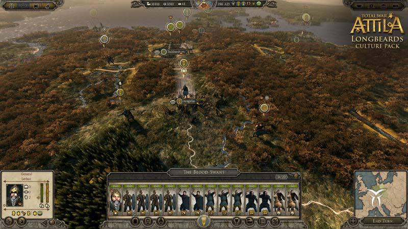 Total War Attila: Longbeards Culture Pack (DLC)