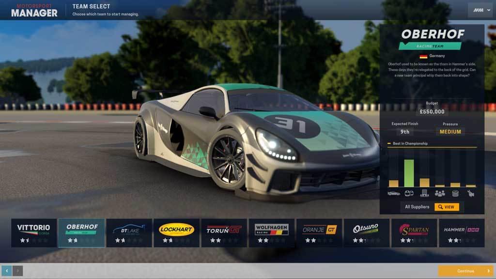 Motorsport Manager - GT Series (DLC)