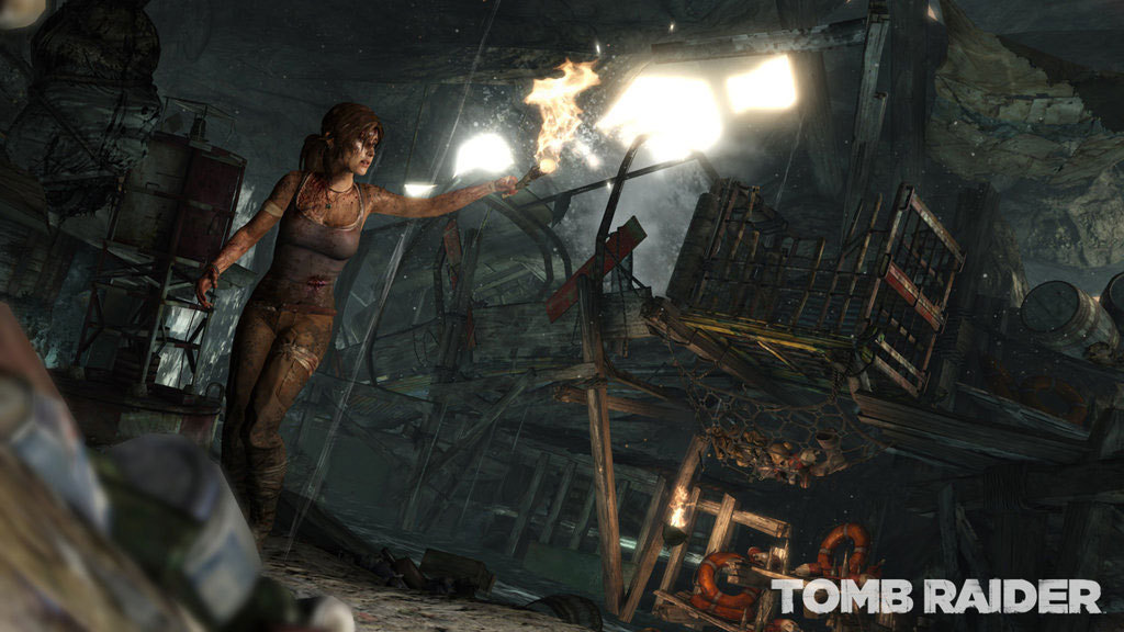 Tomb Raider - Survival Edition - Screenshot 1