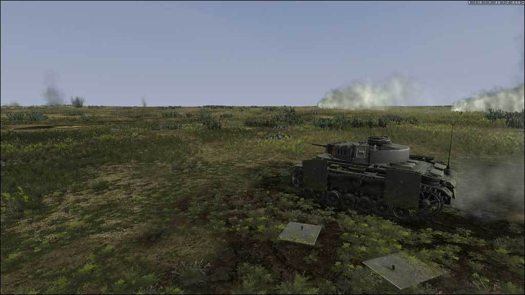 Tank Warfare Tunisia 1943