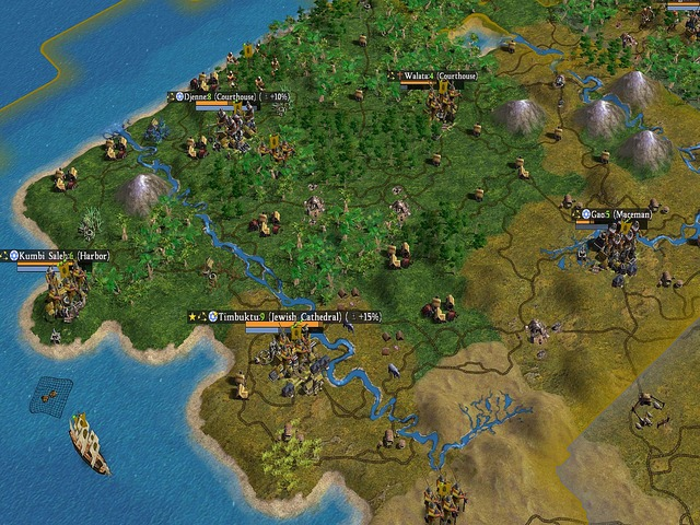 Sid Meier's Civilization IV - Screenshot 1