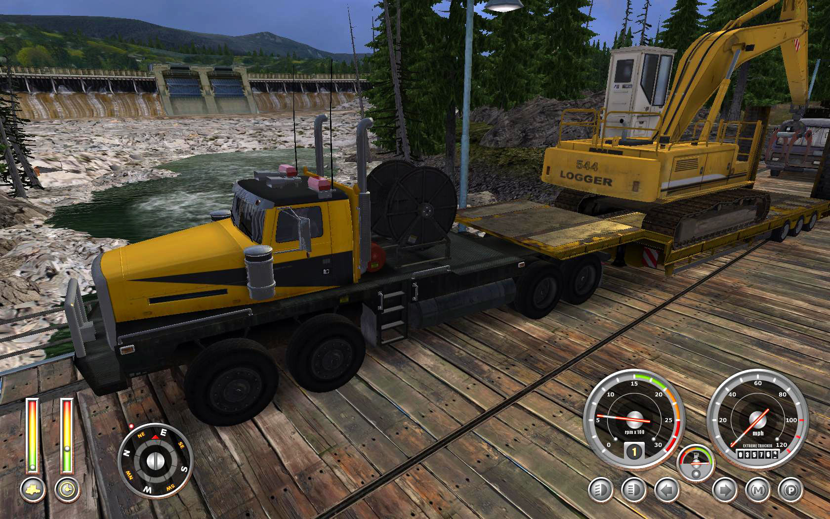 18 Wheels of Steel: Extreme Trucker 2 - Screenshot 1