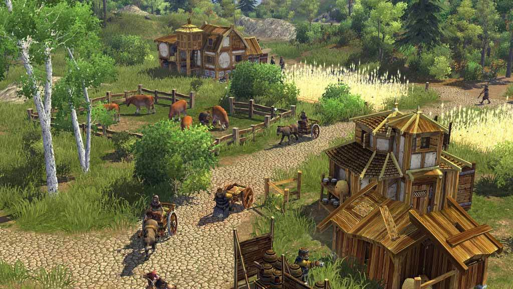 The Settlers VI : Bâtisseurs d'Empire - Gold Edition