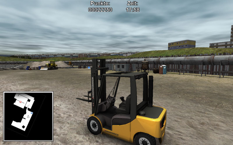 Warehouse & Logistics Simulator
