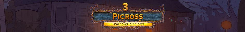 Picross 3: bonbons ou sort !