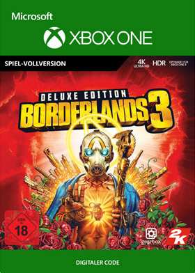 Borderlands 3: Deluxe Edition - Xbox One Code