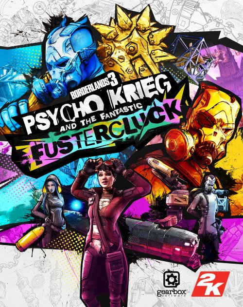 Borderlands 3: Psycho Krieg and the Fantastic Fustercluck (Steam)