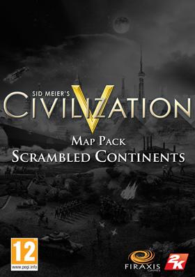 Sid Meier's Civilization® V Map Pack: Scrambled Continents (DLC)