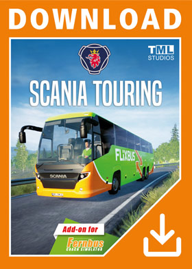 Fernbus Simulator - Scania Touring (DLC)