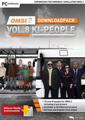 OMSI 2 Add-on Downloadpack Vol. 8 – KI-Menschen (DLC)