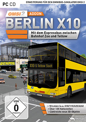 OMSI 2 Add-on Berlin X10 (DLC)
