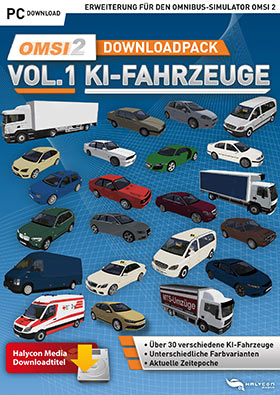 OMSI 2 Downloadpack Vol. 1 - KI-vehicles (DLC)