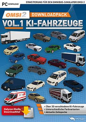 OMSI 2 Add-on Downloadpack Vol  2 - KI-Fahrzeuge (DLC) (Game