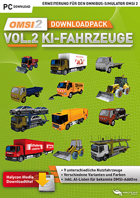 OMSI 2 Add-on Downloadpack Vol  2 - KI-Fahrzeuge (DLC) (Game) | ALDI
