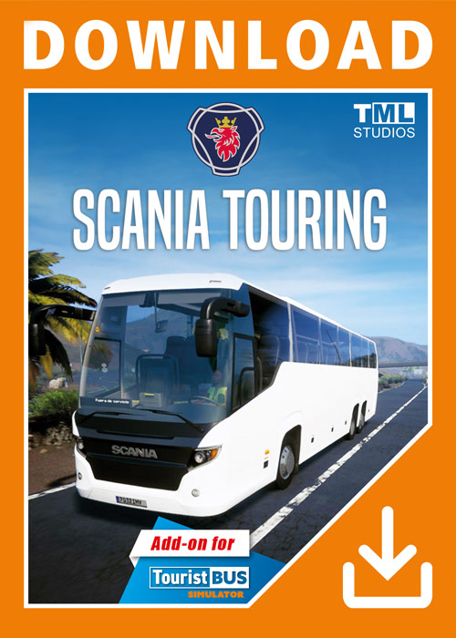 Tourist Bus Simulator - Scania Touring (DLC)