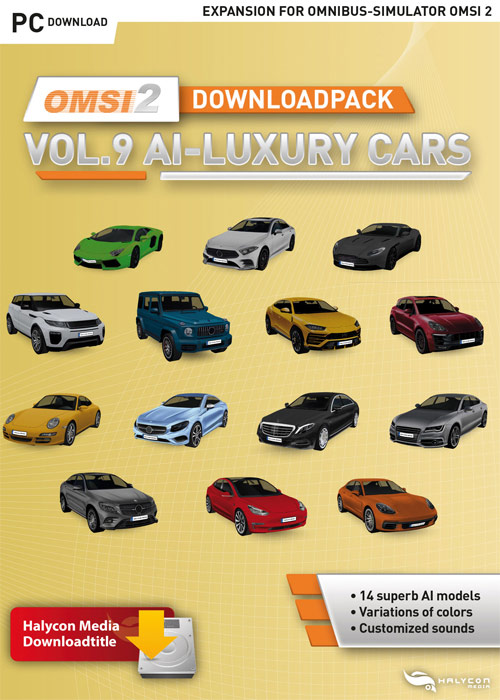 OMSI 2 Downloadpack Vol. 9 - AI Luxury Cars