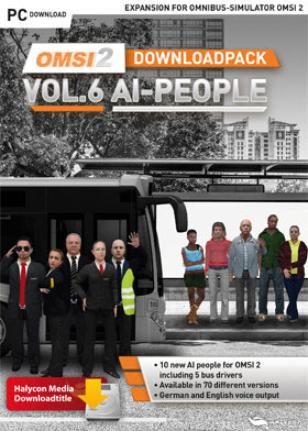OMSI 2 Downloadpack Vol. 6 - AI-People