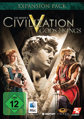 Sid Meier's Civilization® V: Gods & Kings DLC (Mac)