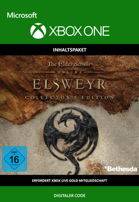 ESO: Elsweyr Collectors Edition - Xbox One Code
