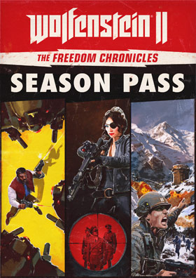 Wolfenstein II - The Freedom Chronicles (Season Pass) - German Edition