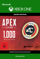 Apex Legends: 1000 Coins - Xbox One Code