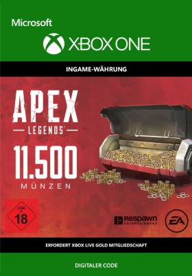 Apex Legends: 11500 Coins - Xbox One Code