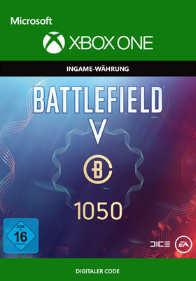 Battlefield V: Battlefield Currency 1050  - Xbox One Code
