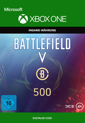 Battlefield V: Battlefield Currency 500  - Xbox One Code