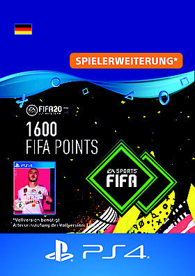 FIFA 20 ULTIMATE TEAM 1600 POINTS - PS4 Code