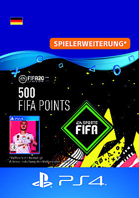 FIFA 20 ULTIMATE TEAM 500 POINTS - PS4 Code