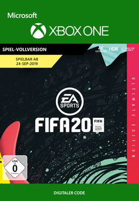 FIFA 20: Ultimate Edition (Vorbestellen) - Xbox One Code