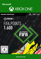 FIFA 20 ULTIMATE TEAM FIFA POINTS 1600 - Xbox One Code