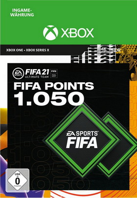 FIFA 21 ULTIMATE TEAM 1050 POINTS - Xbox Code