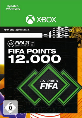 FIFA 21 ULTIMATE TEAM 12000 POINTS - Xbox Code