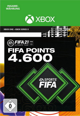 FIFA 21 ULTIMATE TEAM 4600 POINTS - Xbox Code