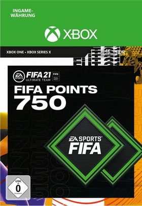 FIFA 21 ULTIMATE TEAM 750 POINTS - Xbox Code